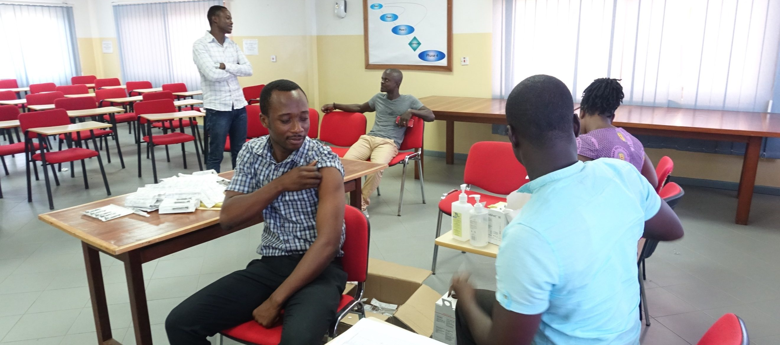 Hepatitis B vaccination exercise
