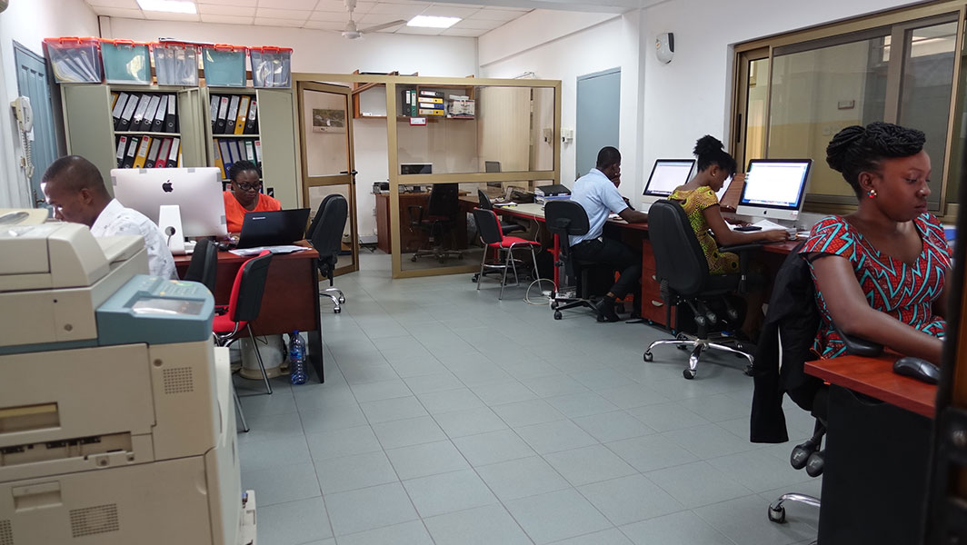 KCCR Data Entry Room